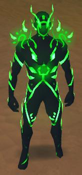 Vitality Suit - Green, Full Health