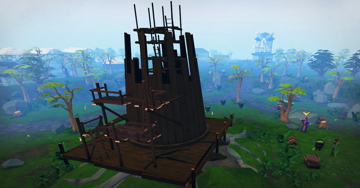 Fayre Buildup