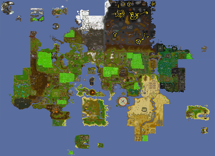Old Runescape World Map.Osrs World Map