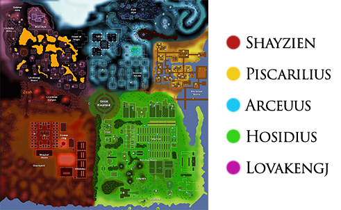 ... a full size map of Zeah.