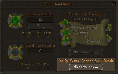 Updatesname Change Osrs Bond Drops Loot Achievements