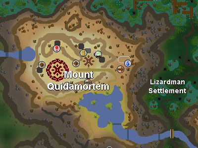 Trolls south of mount quidamortem