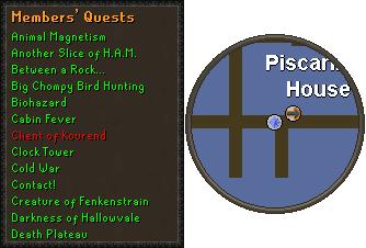 Kourend quest