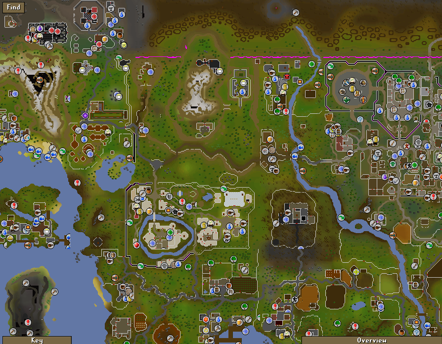 Lumbridge Castle Is Disturbingly Pub Free, But We Should Be Able To See An  Icon For Any Pubs We Come Across. If Only We Could Look At Something Beyond  This ...
