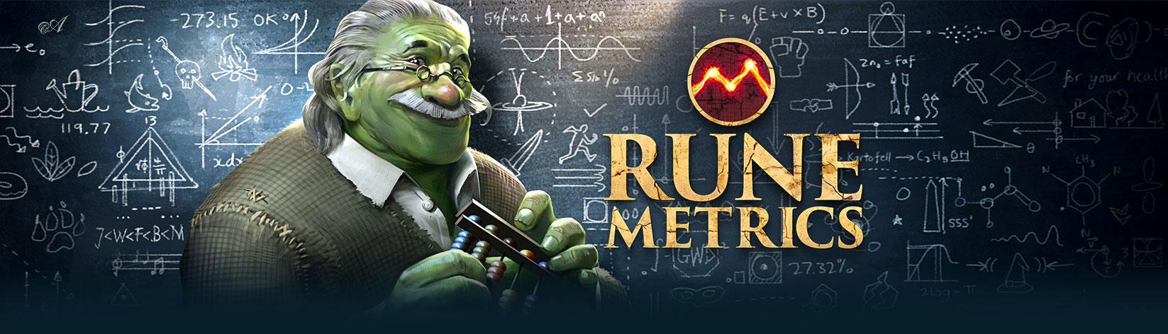 Welcome - RuneMetrics - RuneScape player stat tracking