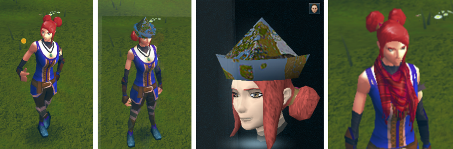 Image of Lucky Coin, Map Hat and Chic Scarf