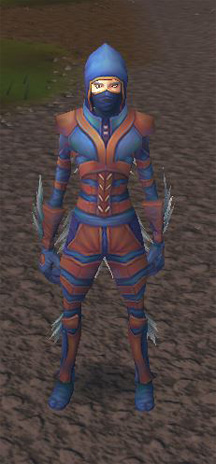 Female Nimble Outfit, front.