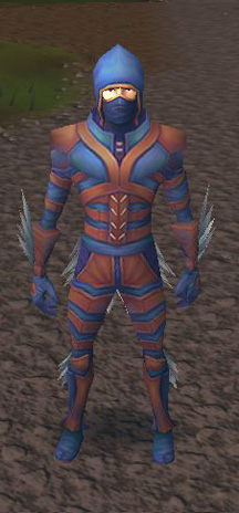 Male Nimble Outfit, front.