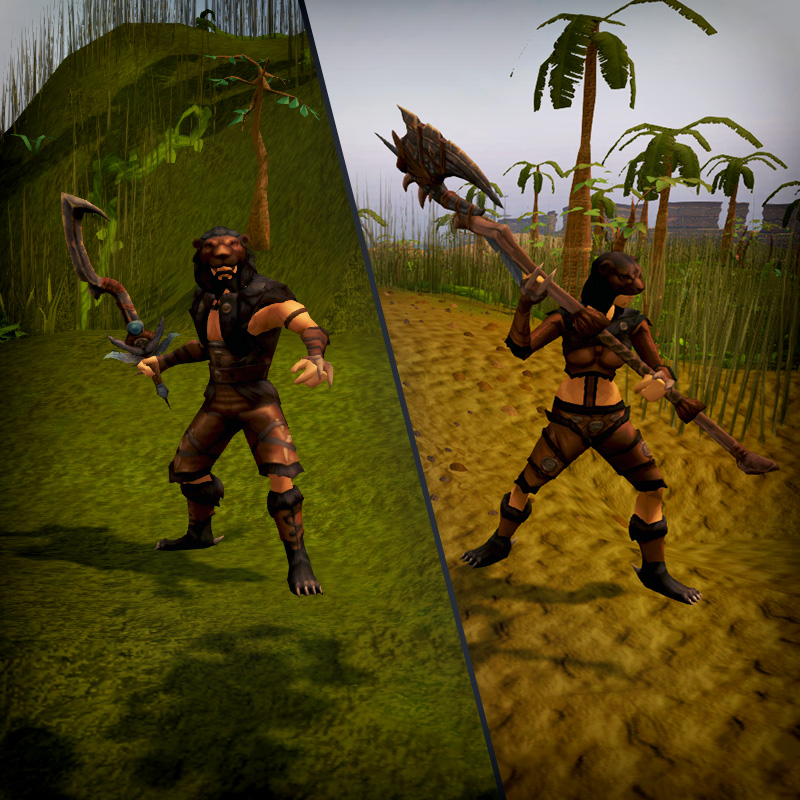 Melee Manticore Weapons