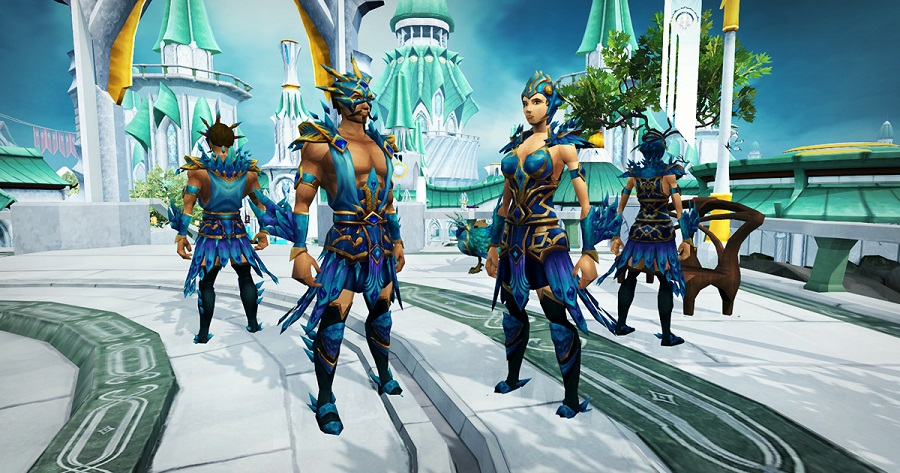 Crystal Peacock Armour