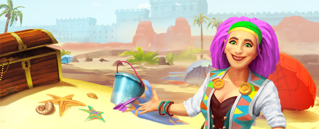 Treasure Hunter | Build A Beach