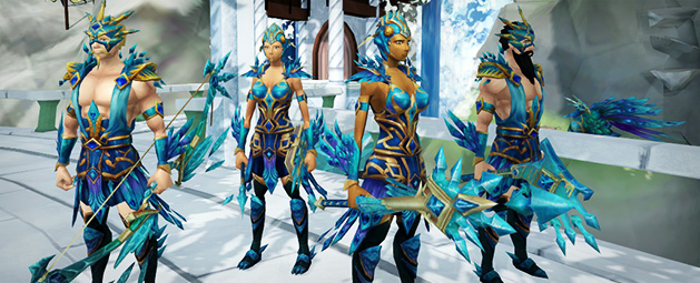Crystal Peacock Weapons