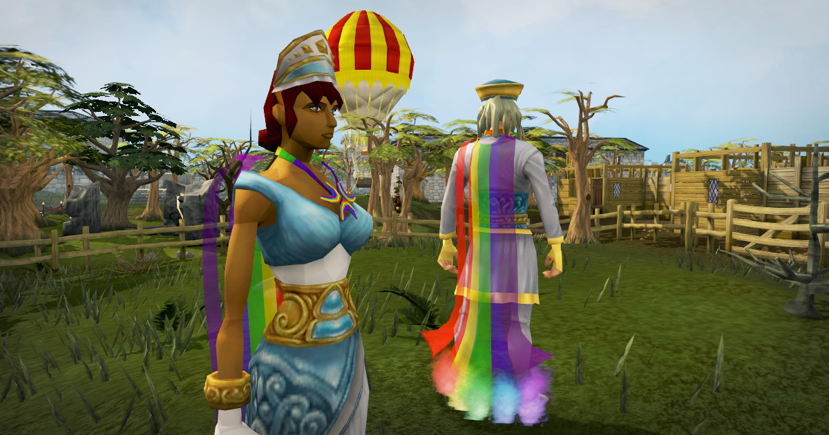 Rainbow Cape and Necklace