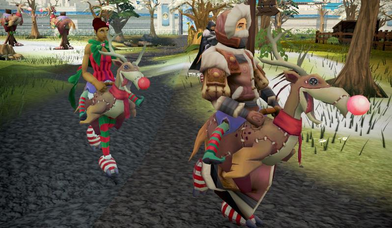 Reindeer Terrorbird Racing