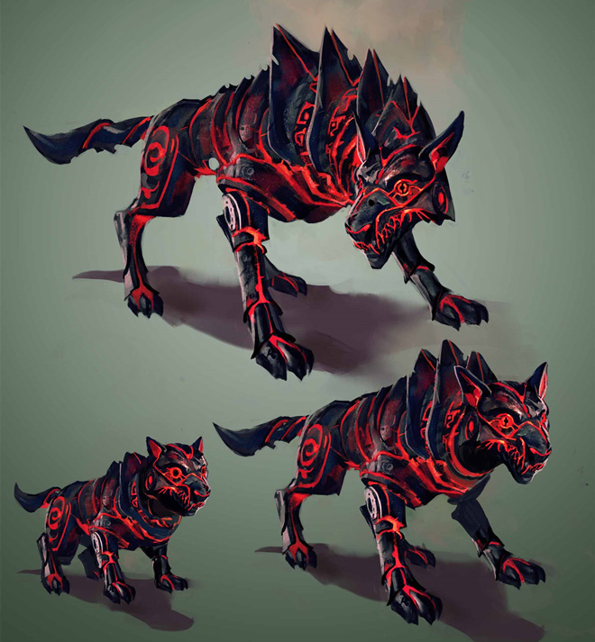 Fire Lycan Legendary Pet