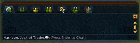 Chatbox mode 2 - collapsed