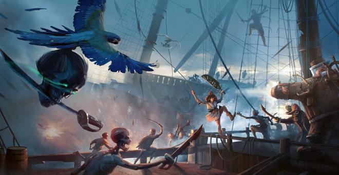 Quête des pirates