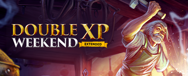 Double XP Weekend: Extended returns!
