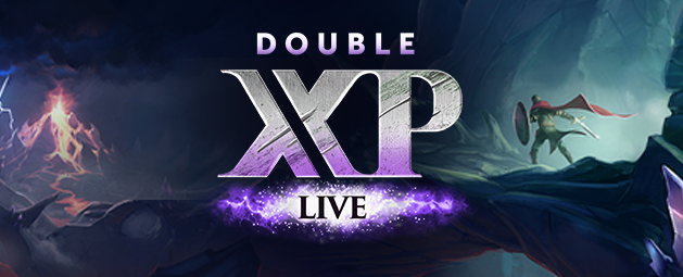 Double XP LIVE - starting Friday 8th May