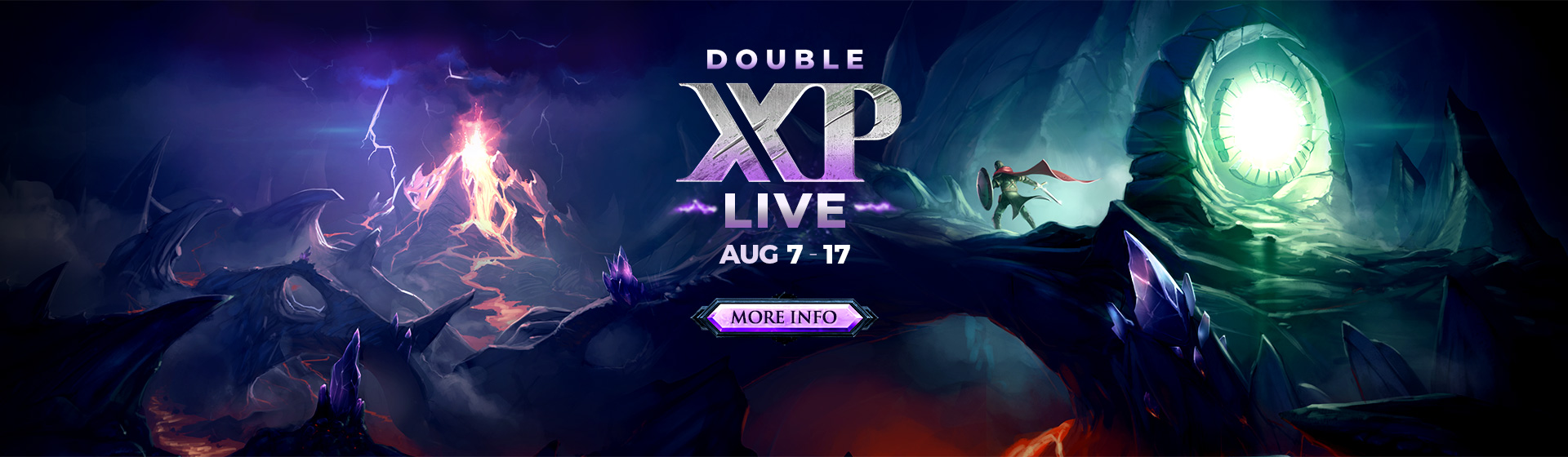 Double XP LIVE - 7 - 17 August