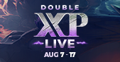 Double XP LIVE - Returning Soon! Teaser Image