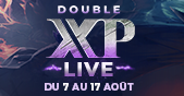 Double XP LIVE : retour imminent ! Image