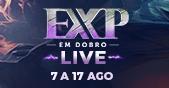 EXP em Dobro LIVE - Em Breve de Volta! Imagem teaser