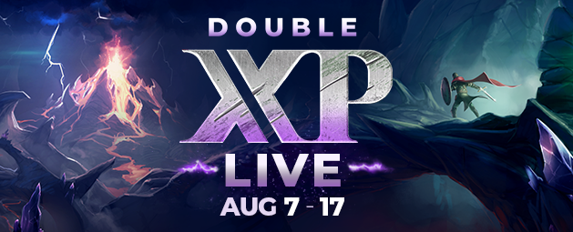 Double XP LIVE - Returning Soon!