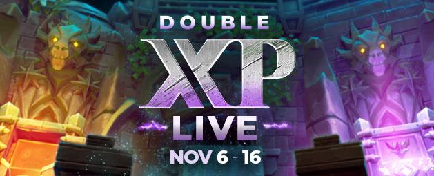 Double XP LIVE - Returning November 6th