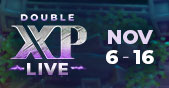 Double XP LIVE - Returning November 6th Teaser Image
