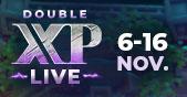 Retour du Double XP LIVE le 6 novembre Image