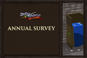 The Old School RuneScape Annual Survey is here! It's your chance to have your say about the game you love.