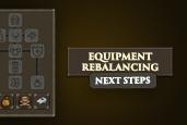 Equipment Rebalancing Next Steps