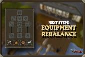 Equipment Rebalance: Next Steps