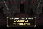 We're weaving narrative and gameplay as we offer two new modes to Theatre of Blood!