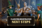 There's no game update this week due to the upcoming release of Clans very soon. Here's the next steps if you've pre-registered a Clan name!