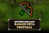 Find out what we have planned for the Ranged Meta in our latest Equipment Rebalance blog!