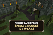 Small Changes & Tweaks