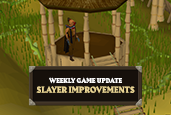 Slayers rejoice, because your Poll 75 changes are here – store your tasks, rock out in a fancy helmet and more!