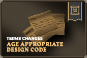 Age Appropriate Design Code - Terms Changes
