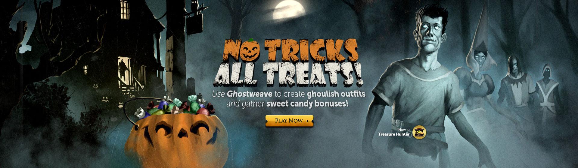 Image - No Tricks All Treats head banner.jpg | RuneScape Wiki ...