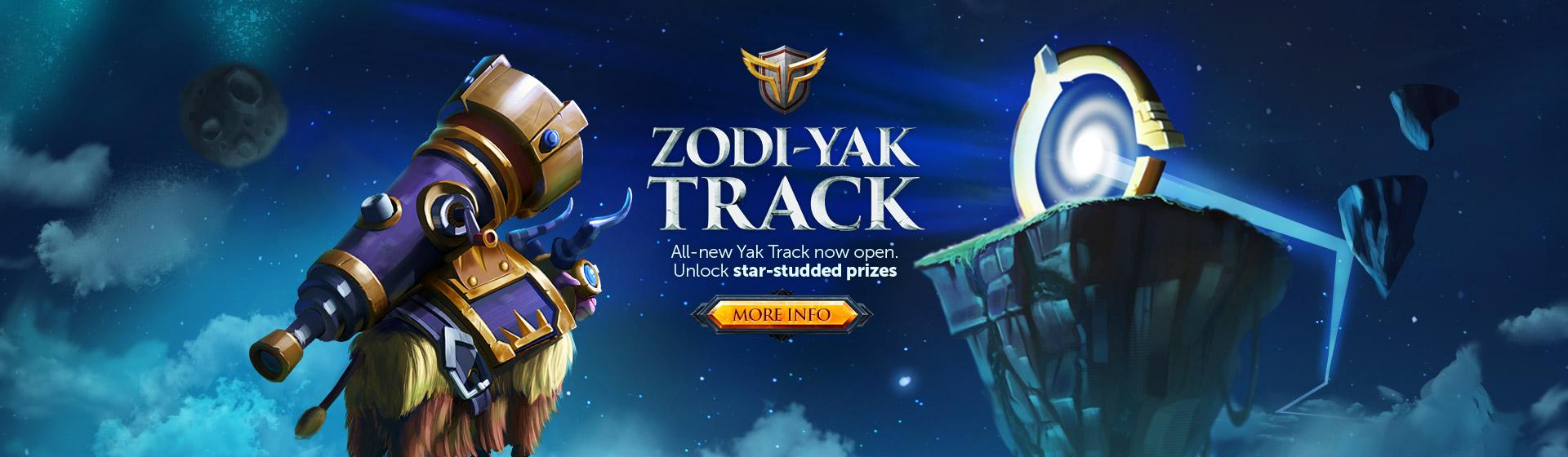 Zodi-Yak Track