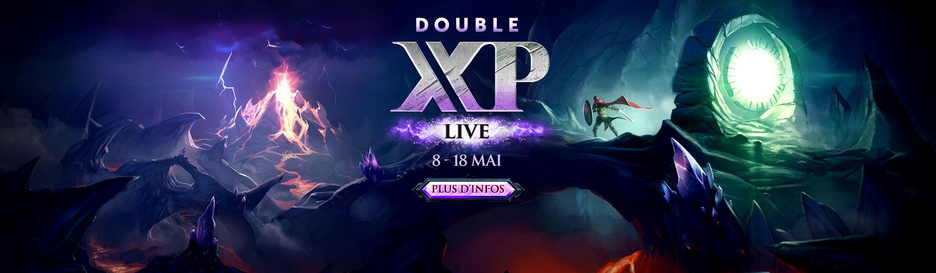DOUBLE XP LIVE