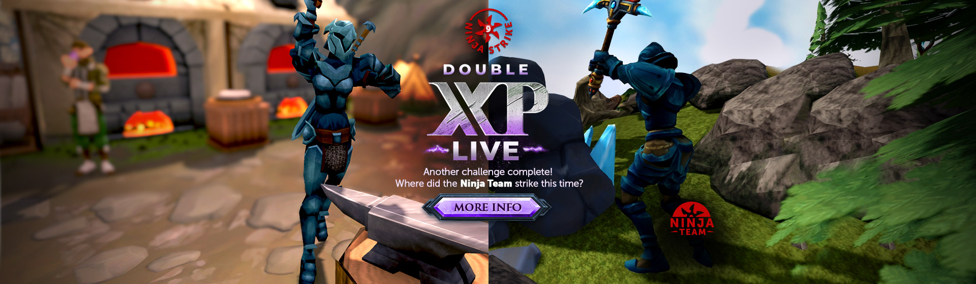 Ninja Strike 9 - Double XP LIVE