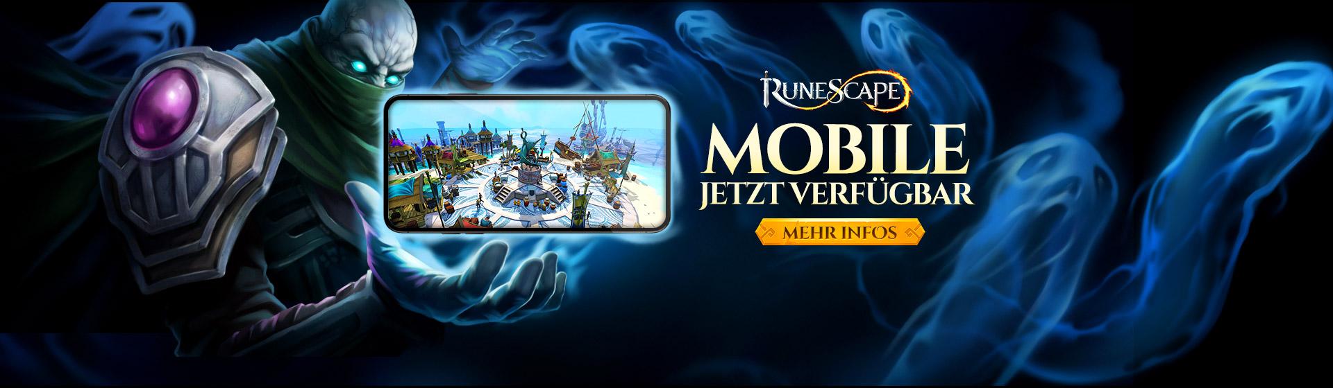 RuneScape Mobile ist da!