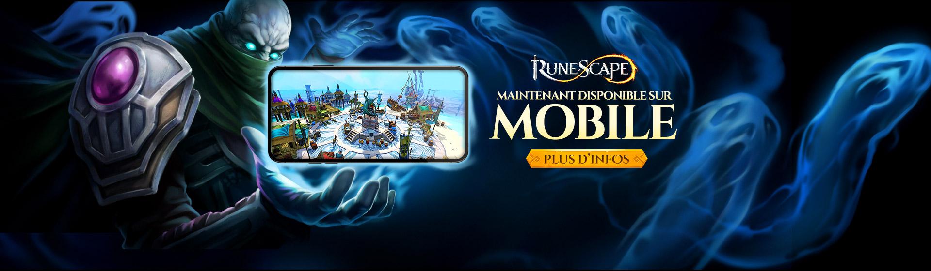 RuneScape Mobile est arrivé !