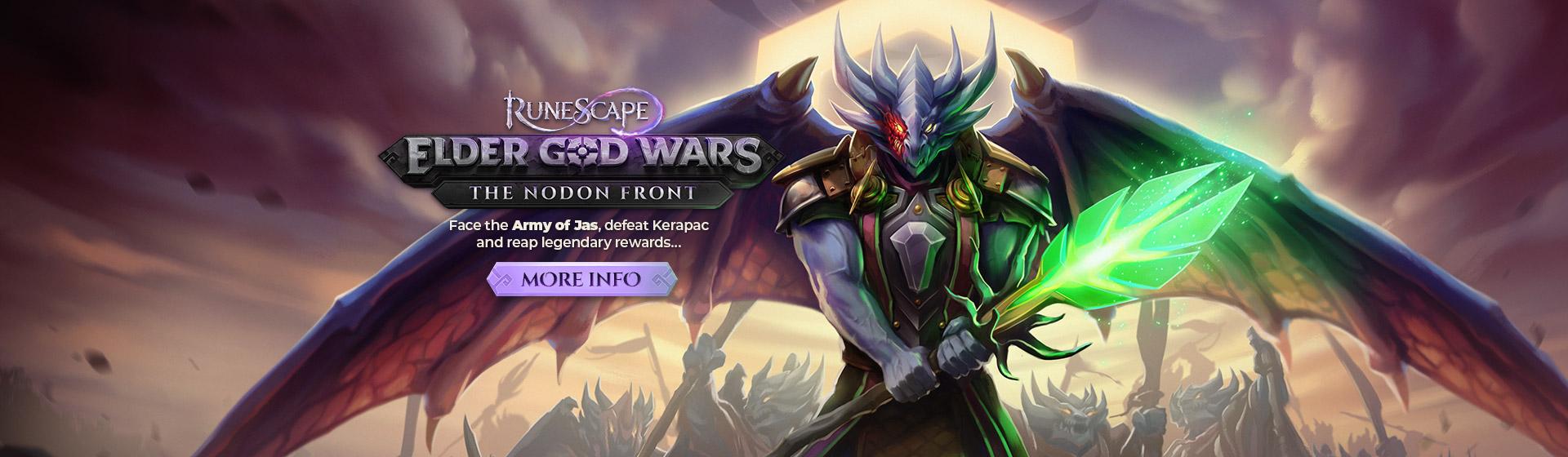 Elder God Wars Dungeon - The Nodon Front