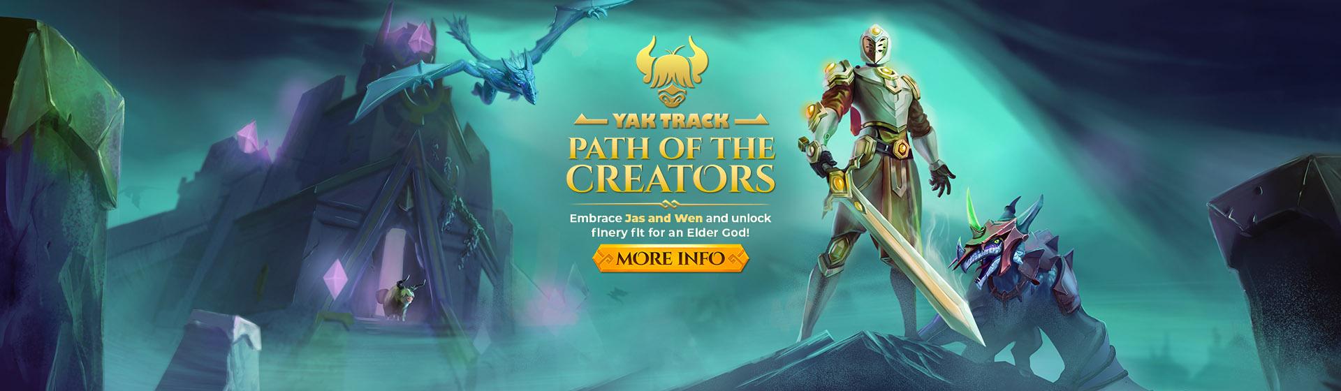 Yak Track - Path of the Creators